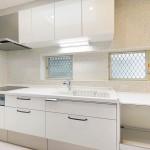 真っ白なキッチン