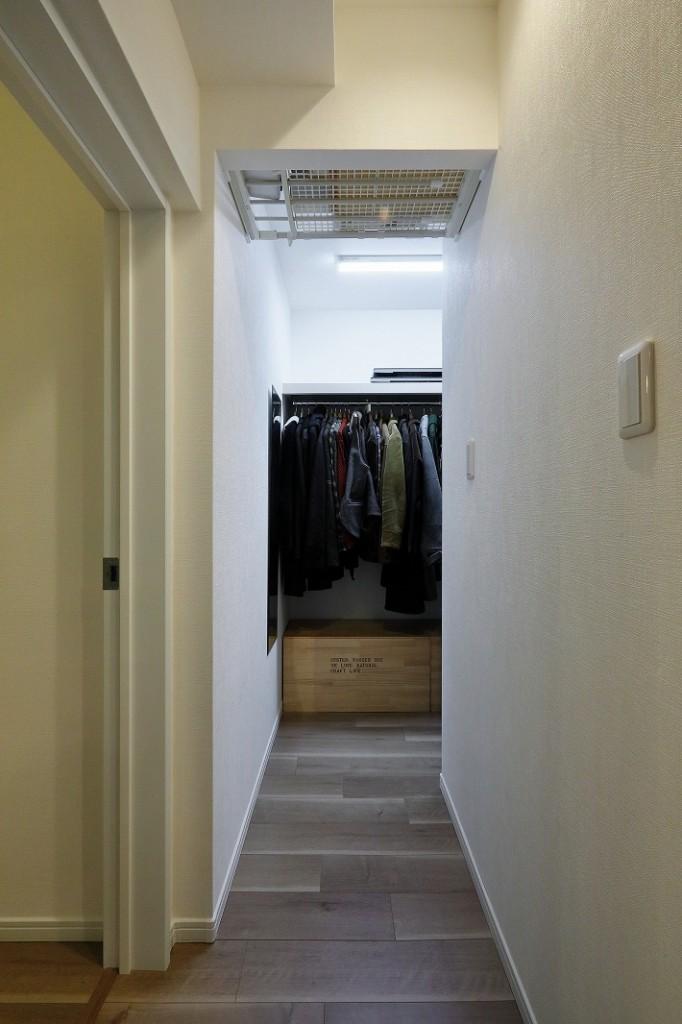 間取り変更を伴う中古マンションのデザインリノベーション