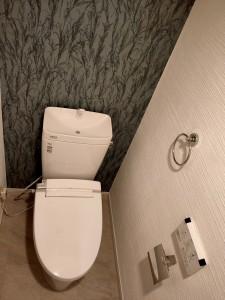 トイレ漆喰