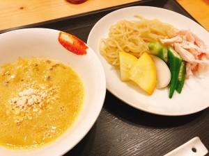 〆のフレンチつけ麺