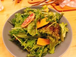 こだわり野菜のグリーンサラダ