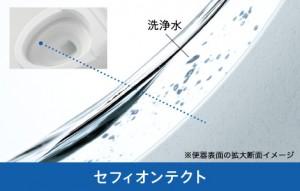 TOTO セフィオンテクト トイレ