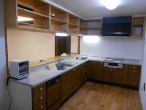 S様邸 店舗兼住まい キッチン L型