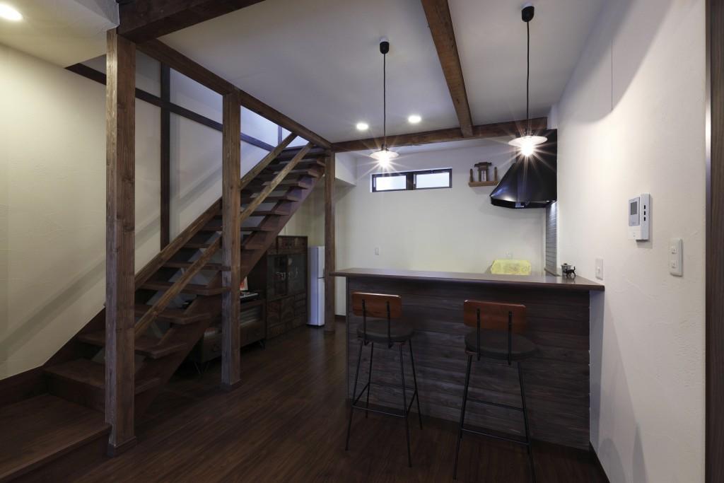 リフォームN邸階段