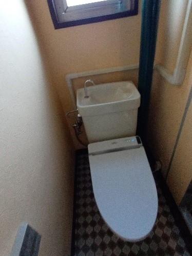 団地リノベ トイレ