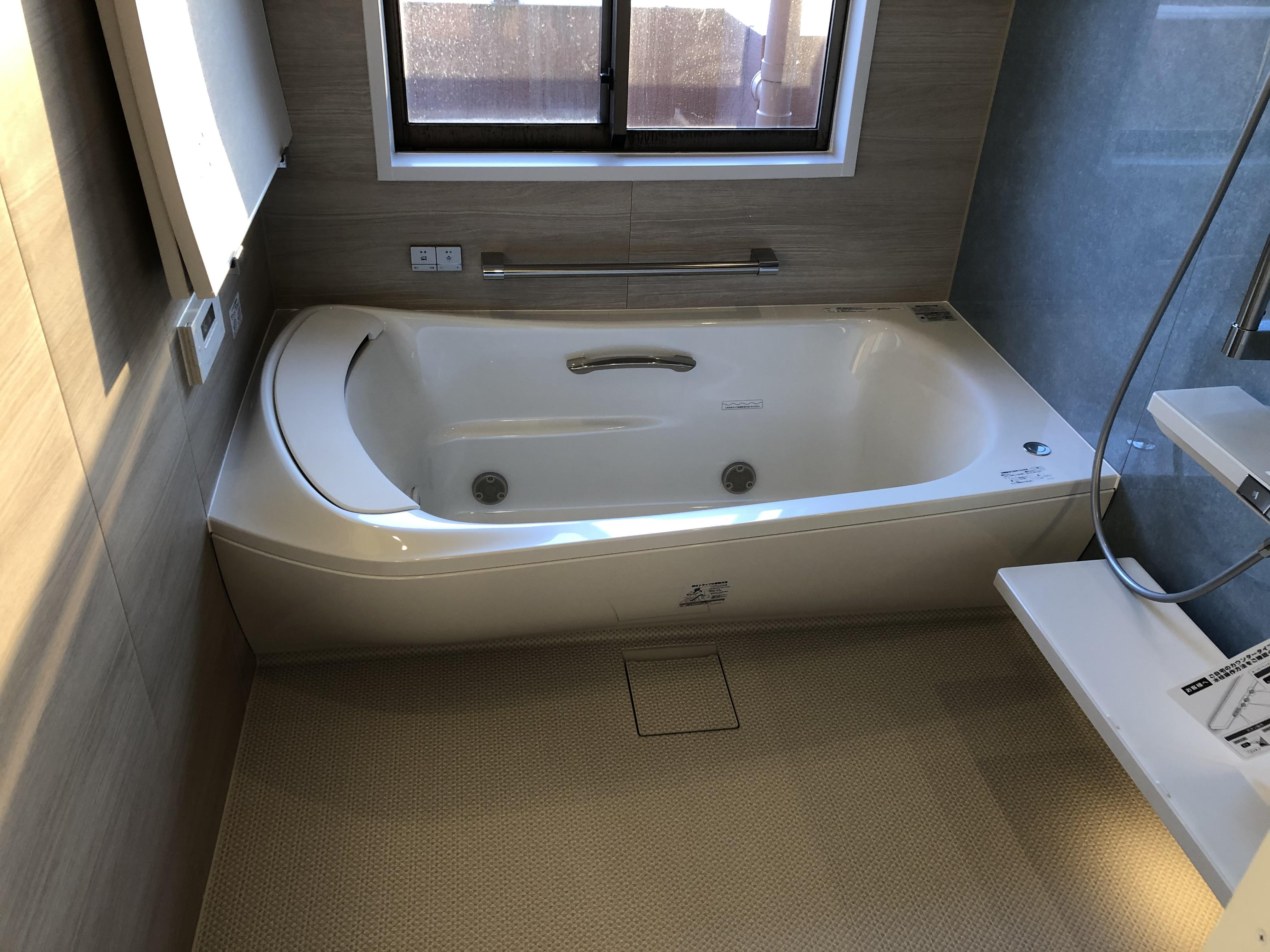 ワンランク上の浴室 TOTO『シンラ』完成しました!