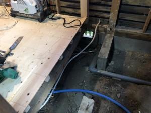 1階床合板