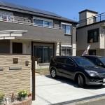 新築の建物と調和する外構工事